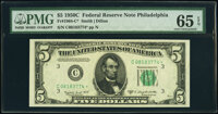 Fr. 1964-C*; D* $5 1950C Federal Reserve Star Notes. PMG Gem Uncirculated 65 EPQ. ... (Total: 2 notes)