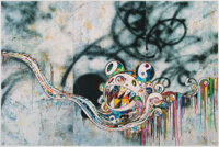 Takashi Murakami (b. 1962) 727999, 2016 Offset lithograph in colors on smooth wove paper 25-3/4 x