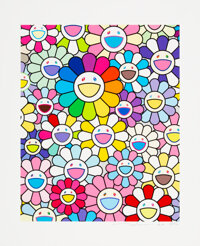 Takashi Murakami (b. 1962) Flowers of Hope, 2020 Archival pigment print in colors on Canson Velin Co