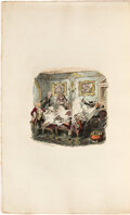 Books:Color-Plate Books, George Cruikshank. Points of Humor. ...