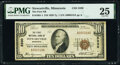 National Bank Notes:Minnesota, Stewartville, MN - $10 1929 Ty. 1 The First National Bank Ch. # 5330 PMG Very Fine 25.. ...