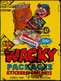 "Non-Sport Cards:Unopened Packs/Display Boxes, 1988 O-Pee-Chee ""Wacky Packages Stickers"" Box With 36 Unop..."