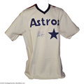 Autographs:Others, Baseball Autographed Jerseys Nolan Ryan Signed Houston ...