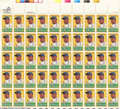 Baseball Collectibles:Others, Baseball 1982 20-cent Jackie Robinson Multicolored United ...