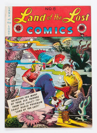 Land of the Lost Comics #8 (EC, 1947) Condition: FN-