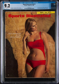 1967 Sports Illustrated Swimsuit Issue (1/16), CGC 9.2- Pop Two, One Higher