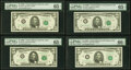 Small Size:Federal Reserve Notes, Fr. 1972-H; H*; J; J* $5 1969C Federal Reserve Note. PMG G...