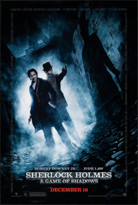 """Sherlock Holmes: A Game of Shadows (Warner Bros., 2011). Rolled, Very Fine/Near Mint. One Sheet (27"""" X 40"""") DS..."""