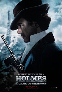 """Sherlock Holmes: A Game of Shadows (Warner Bros., 2011). Rolled, Very Fine+. One Sheets (2) (27"""" X 40"""") DS Adv..."""