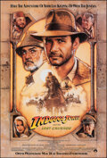 """Movie Posters:Action, Indiana Jones and the Last Crusade (Paramount, 1989). Rolled, Very Fine. One Sheet (27"""" X 40"""") SS Advance, Drew Struzan Artw..."""