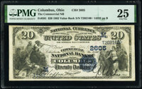 Columbus, OH - $20 1882 Value Back Fr. 581 The Commercial National Bank Ch. # (M)2605 PMG Very Fine 25