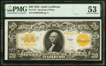 Large Size:Gold Certificates, Fr. 1187 $20 1922 Gold Certificate PMG About Uncirculated ...