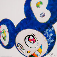 Takashi Murakami (b. 1962) And Then (A Deep Ocean of Ultramarine), 2013 Offset lithograph in colors