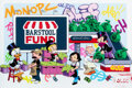 Prints & Multiples, Alec Monopoly x The Barstool Fund. Monopz Saves Small Biz, 2021. Screenprint in colors on wove paper. 24 x 36 inches (61...
