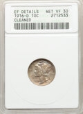 1916-D 10C -- Cleaned -- ANACS. XF Details, Net VF30. Mintage 264,000....(PCGS# 4906)