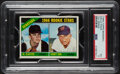 Baseball Cards:Unopened Packs/Display Boxes, 1966 Topps Baseball (7th Series) Cello Pack PSA EX 5 - Scarce High-Number Pack! ...