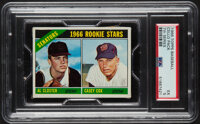 1966 Topps Baseball (7th Series) Cello Pack PSA EX 5 - Scarce High-Number Pack!