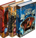 Books:Signed Editions, George R. R. Martin. The First Three Books of A Song of Ice and Fire. [London]: HarperCollins, Voyager, [1996]-[2000... (Total: 3 Items)