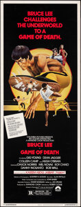 """Movie Posters:Action, Game of Death (Columbia, 1979). Rolled, Very Fine. Insert (14"""" X 36"""") Bob Gleason Artwork. Action.. ..."""