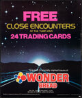 """Movie Posters:Science Fiction, Close Encounters of the Third Kind (ColPrem Ventures, 1978). Rolled, Very Fine. Wonder Bread Trading Card Poster (20"""" X 24"""")..."""