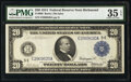 Large Size:Federal Reserve Notes, Fr. 980 $20 1914 Federal Reserve Note PMG Choice Very Fine 35 EPQ.. ...