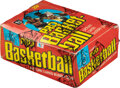 Basketball Cards:Unopened Packs/Display Boxes, 1978 Topps Basketball Wax Box With 36 Unopened Packs. ...