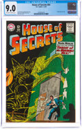 Silver Age (1956-1969):Horror, House of Secrets #64 (DC, 1964) CGC VF/NM 9.0 Off-white to white pages....