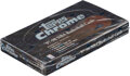 Basketball Cards:Unopened Packs/Display Boxes, 1997 Topps Chrome Basketball Unopened Box - Tim Duncan Rookie Year! ...