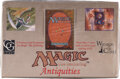Memorabilia:Trading Cards, Magic: The Gathering Antiquities Edition Sealed Booster Box (Wizards of the Coast, 1994)....