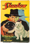 Pulps:Detective, The Shadow - Summer 1949 (Street & Smith) Condition: VG....