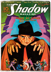 The Shadow - October 1, 1933 (Street & Smith) Condition: VG