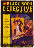Pulps:Detective, Black Book Detective - January 1936 (Better Publications) Condition: VG....