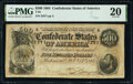 Confederate Notes:1864 Issues, T64 $500 1864 PF-2 Cr. 489 PMG Very Fine 20.. ...