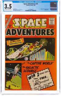 Space Adventures #33 (Charlton, 1960) CGC VG- 3.5 Off-white to white pages