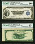 Error Notes:Large Size Errors, Fr. 737 $1 1918 Federal Reserve Bank Note Errors.