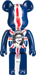 Collectible, BE@RBRICK X Sex Pistols. Sex Pistols 1000% (Version 2), 2007. Painted cast resin. 28 x 13-1/2 x 9-1/2 inches (71.1 x 34....