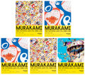 Prints & Multiples, Takashi Murakami (b. 1962). The Octopus Eats Its Own Leg, exhibition posters (five works), 2018. Offset lithographs in c... (Total: 5 Items)