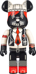 Collectible, BE@RBRICK X Anna Sui. Anna Sui (Red & Beige) 1000%, 2020. Painted cast resin. 28 x 13-1/4 x 9-1/2 inches (71.1 x 33.7 x ...