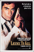 """Movie Posters:James Bond, Licence to Kill (United Artists, 1989). Rolled, Very Fine. One Sheets (2) (27"""" X 41"""") SS, Advance & Regular. James Bond.. ... (Total: 2 Items)"""