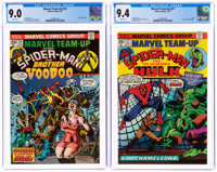 Marvel Team-Up #24 and 27 CGC-Graded Group (Marvel, 1974).... (Total: 2 Comic Books)