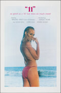 """Movie Posters:Adult, """"11"""" (Gail Film, 1980). Flat Folded, Very Fine+. One Sheet (27"""" X 41""""). Adult.. ..."""
