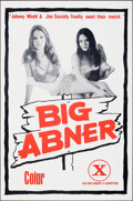 """Movie Posters:Adult, Big Abner (Taurus, 1975). Folded, Very Fine. One Sheet (25"""" X 38""""). Adult.. ..."""