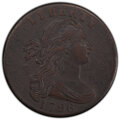 1796 1C Draped, Reverse of 1795 -- Corrosion Removed -- PCGS Genuine. XF Details. Mintage 363,375....(PCGS# 1401)