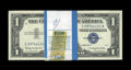 Small Size:Silver Certificates, Fr. 1621 $1 1957B Silver Certificates. Pack of 100. Choice Crisp Uncirculated.. ...