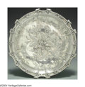 Silver Holloware, Continental:Holloware, A FRENCH SILVER CAKE STAND