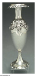 Silver Holloware, American:Vases, AN AMERICAN SILVER BUD VASE