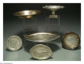 Silver Holloware, American:Other , A GROUP OF SIX SILVER OBJECTS