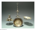 Silver Holloware, American:Other , A GROUP OF FIVE SILVER ITEMS