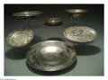 Silver Holloware, American:Other , A GROUP OF SEVEN SILVER ITEMS