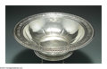 Silver Holloware, American:Bowls, AN AMERICAN SILVER BOWL